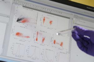 Echantillon pour l'analyse de thymocyte humain