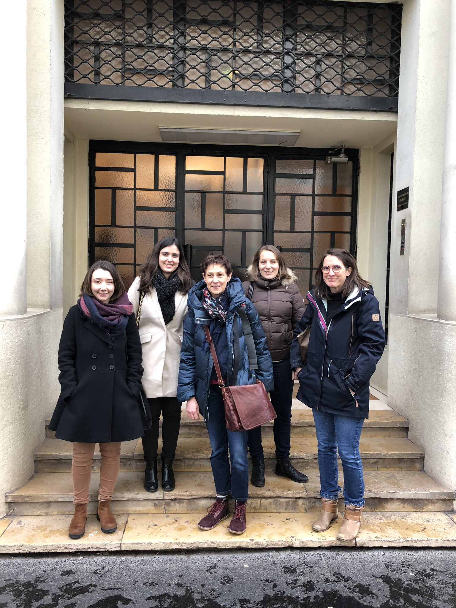 Catherine Coirault et ses ambassadeurs