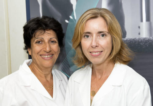 Sonia Berrih-Aknin (chercheuse émérite) et Rozen Le Panse (DR CNRS)