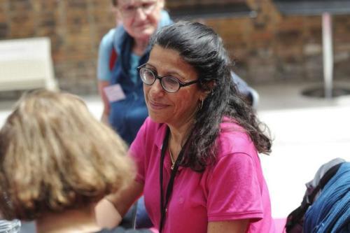 Projet FIGHT-MG - Sonia Berrih-Aknin à la Journée des Familles